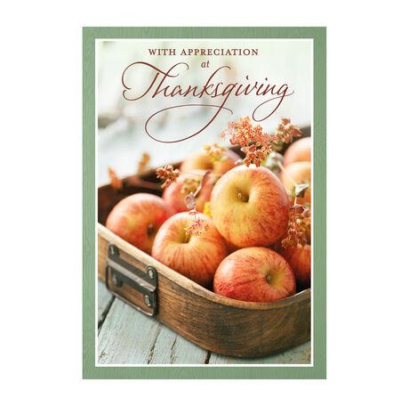 Apples & Appreciation