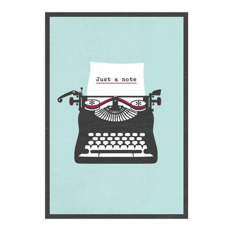 Business general use cards typewriter note hallmark typewriter note reheart Choice Image