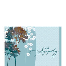 Blue Floral Sympathy