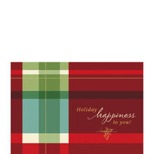 Warm Holiday Plaid
