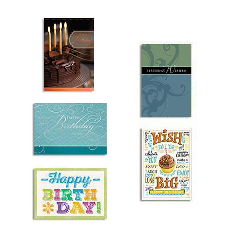 Birthday Cards 25 Pack Assortment