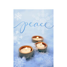 PEACE with Candles 25-Pack