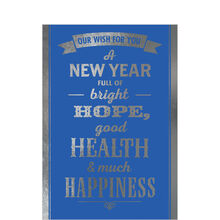 A Healthy, Happy New Year