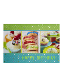 Triple Birthday Treats
