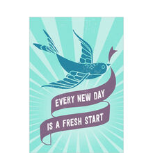 Fresh Start Every Day Health Business Hallmark Card