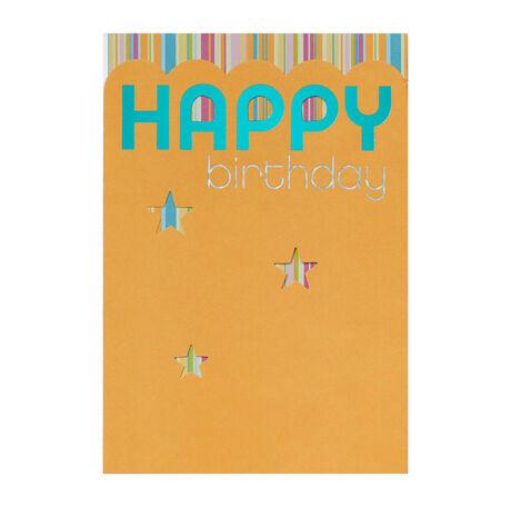 Striped Stars Birthday