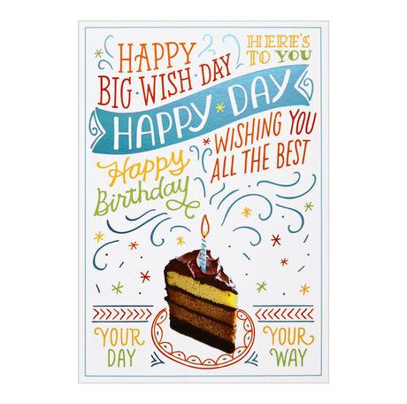 Wish-tastic Birthday