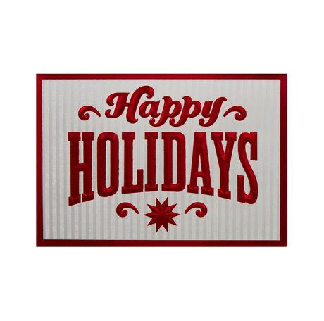 Happy Holiday Salutations