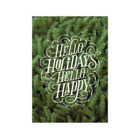 Evergreen Hello