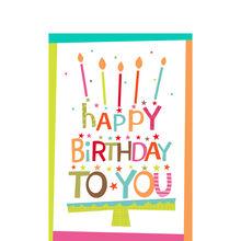 Birthday Lettering Cake