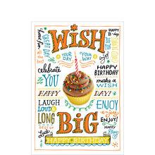 Cupcake Birthday Wishes
