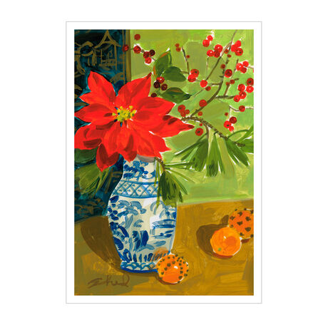 Poinsettia Still Life