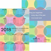 Calendar cards holiday calendar cards hallmark business on the dot colourmoves Images