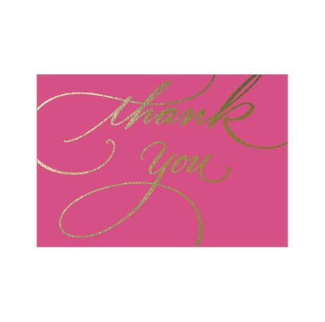 Pink & Gold Gratitude