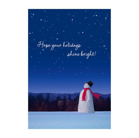 A Snowman Makes a Wish
