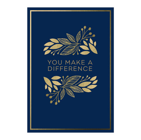 The Difference Employee Appreciation Hallmark Card