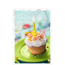 Cupcake & Swirls