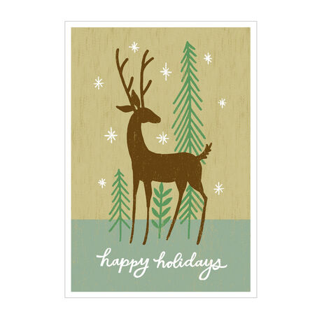 Folk Art Reindeer