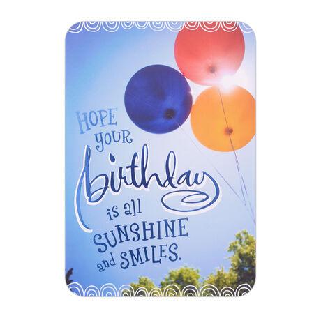 Sunny Balloons Birthday