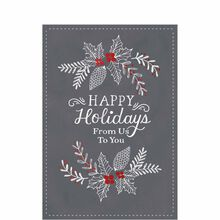 Business holiday cards business greeting cards hallmark artistically drawn colourmoves