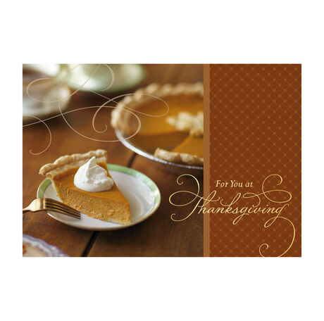 Pumpkin Pie Slice Photo