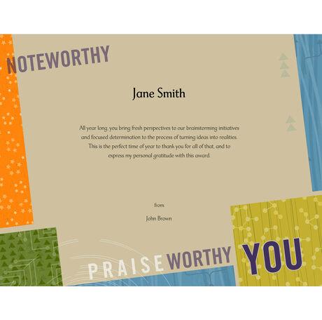 Praiseworthy You