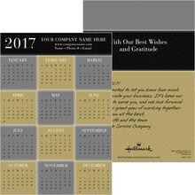 Herringbone Classic Magnetic Calendar