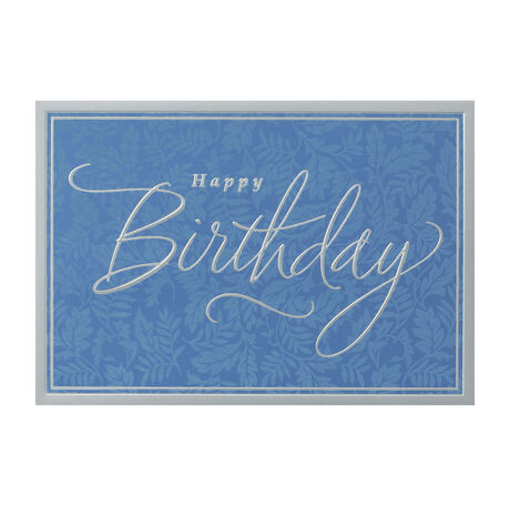 Fancy Lettered Birthday