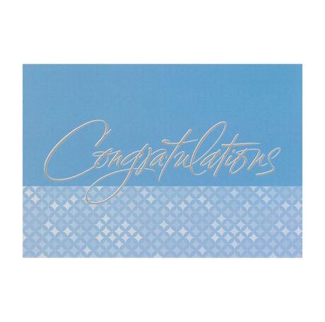 Sincere Congratulations