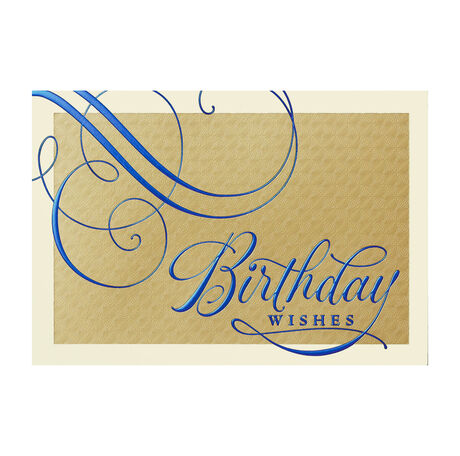 Blue Design Birthday