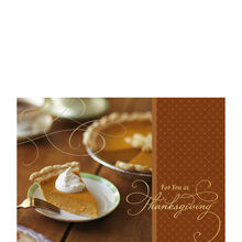Pumpkin Pie Slice Photo 25-Pack
