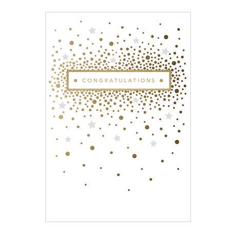 Confetti Congratulations Business Hallmark Card