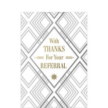 Thanks for Referral Business Hallmark Card