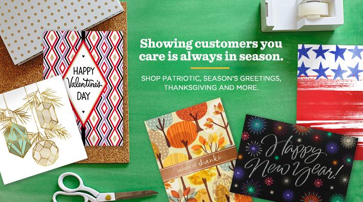 Shop Holiday Cards for your Business
