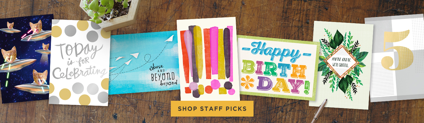 Shop our Staff Faves!