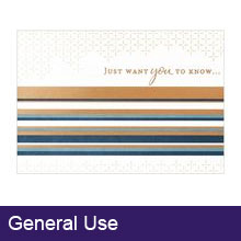 General Use Business Greeting Cards