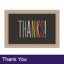 Thank You Buisness Greeting Cards