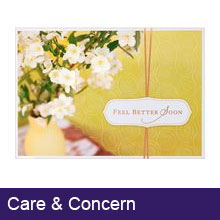 Care and Concern Greeting Cards