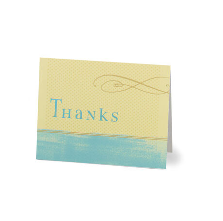 Artistic Thank You Note Card Pack