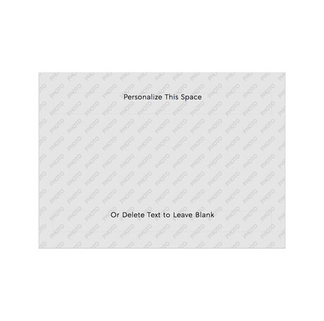 Design Your Own Hallmark Card for Business, Horizontal Folded