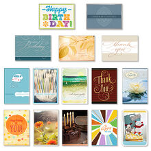 Assorted Cards for Business, All Occasions, 75 Pack