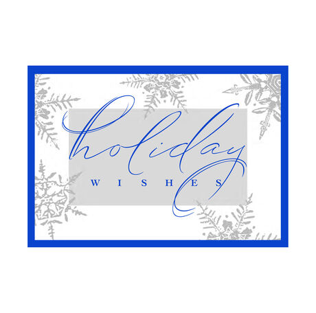 Snow & Holiday Wishes