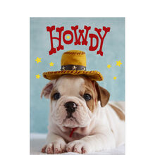 Puppy Howdy Customer Appreciation Hallmark Card
