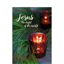 Religious Christmas Card (Jesus the Light) for Business
