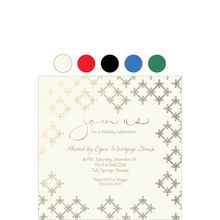 Join Us Geo Pattern Design Your Own Business Hallmark Invitations