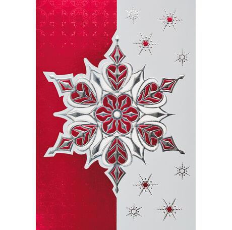 Shiny Silver Snowflake