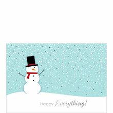 A Snowman for All Occasions