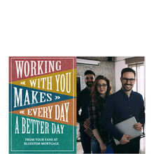 Every Day Better Appreciation Business Hallmark Photo Card