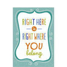 Where You Belong Employee Appreciation Card for Business