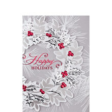 Elegant Holly Wreath
